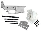 New Noreen Firearms Ar-15 80% Lower Receiver w/ Trigger Guard & Anderson GEN 2 80% Jig Kit Combo  (Optional LPK)